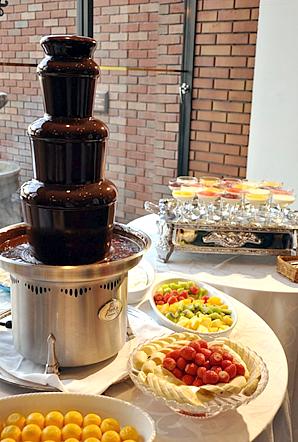 チョコレート フォンデュ 機械